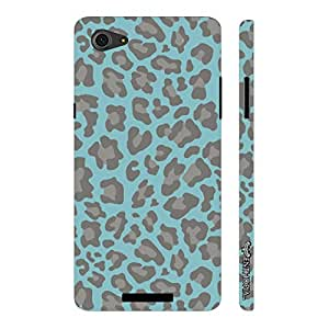Micromax Canvas Hue 2 A316 Reflection of a leopard designer mobile hard shell case by Enthopia