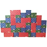 Mondo Bloxx 40 Piece Brick Block Set USA Made (Assorted Sizes)