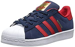 adidas Originals Superstar J Casual Basketball Lowcut Shoe (Big Kid)
