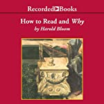 How To Read and Why | Harold Bloom
