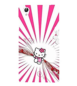 Vizagbeats Pink Doll Back Case Cover for Oppo F1 Plus
