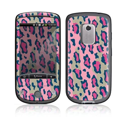 Pink Leopard Decorative Skin Cover Decal Sticker for HTC Hero (Sprint) Cell Phone