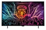 Philips 49PUS6101/12 Ultraflacher 4K Smart 123 cm (49 Zoll) LED-Fernseher mit Pixel Precise Ultra HD dunkelsilber/schwarz