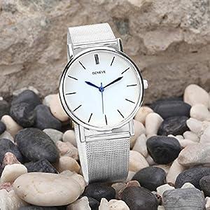 Tongshi Moda reloj de acero inoxidable de la Mujer Band cuarzo relojes de pulsera por Tongshi 1063