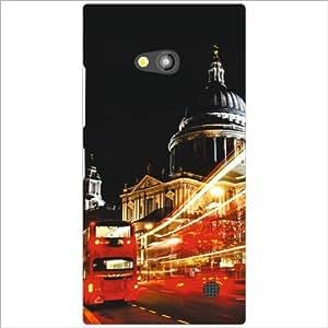Nokia Lumia 730 Back Cover - Dark Night Designer Cases