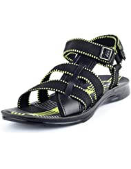 Eprilla Men's Multi-Coloured Synthetic Leather Sandals - B01HO2UDEY