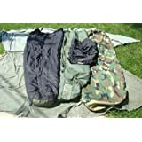 Military Modular Sleep System 4 Piece with Goretex Bivy Cover and Carry Sack by