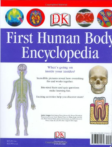 First-Human-Body-Encyclopedia-Dk-First-Reference-Series