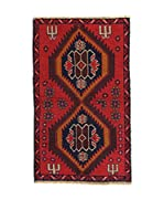 L'Eden del Tappeto Alfombra Beluchistan Rojo / Marrón / Azul 137  x  82 cm