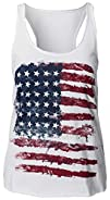 AvaCostume Women's American Flag Prin…