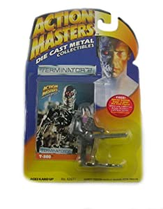 Action Masters Terminator 2 T-800 Die Cast Metal Collectible Figure