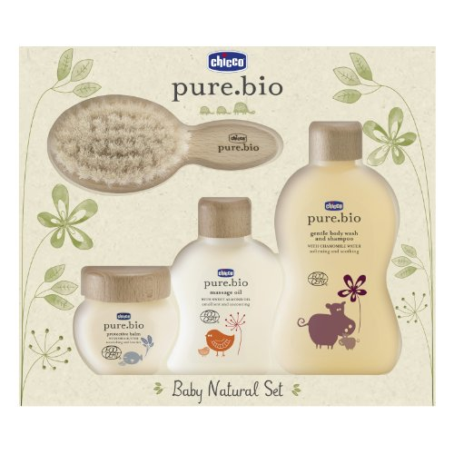Chicco Set Pure Bio Baby Natural 0 Mesi +