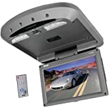 Pyle PLRD95 9.5-Inch Flip-Down Roof-Mount Monitor and DVD SD/USB Player with Wireless FM and IR Transmitter