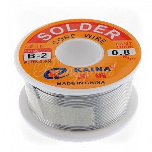 water-wood-63-37-tin-lead-08mm-rosin-core-flux-solder-wire-reel-by-water-wood