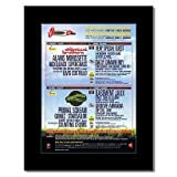 V FESTIVAL - 2002 - StereophonicsChemical Brothers Matted Mini Poster - 28.5x21cm