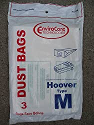 24 DESIGNED TO FIT HOOVER M CANISTER VACUUM BAGS