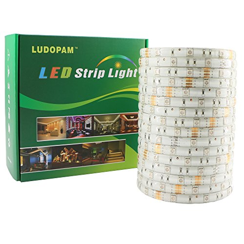 ludopam striscia luminosa a LED RGB 5050SMD, RGB, 5M Waterproof, wide-mouth 12.00 volts