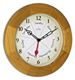 Acctim 24671 Polima Wall Clock, Natural