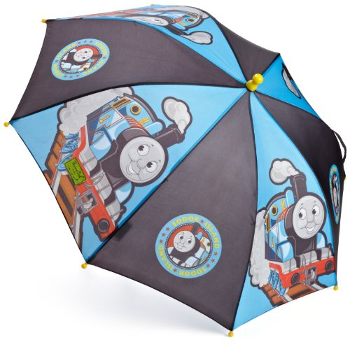 Western Chief Little Boys' Thomas The Tank Engine Umbrella, Blue, One Size front-817270