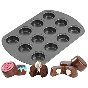 Wilton 2105-3647 Non-Stick 12-Cavity Spool Cake Pan