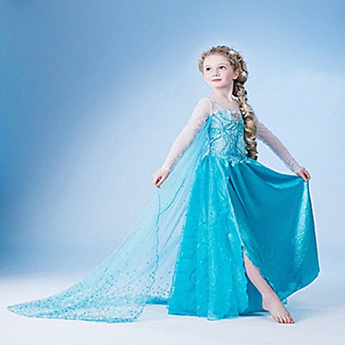 Disney's Frozen Elsa Enchanting Deluxe Girls Costume Dress Up, Size 3-4 Years