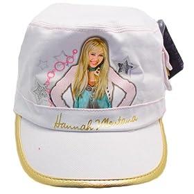 Hannah Montana Cap/Hat-White