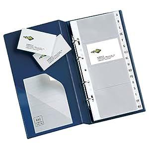 Rota 3 anelli, 320 biglietti blu 16, 5x28cm 57093107 : Office Products