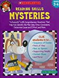 Reading Skills Mysteries: Whodunits With Comprehension Questions That Help Kids Identify the Main Idea, Draw Conclusions, Determine Cause and Effect, and More (Funnybone Books)