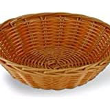 Indrani Collection Bamboo Baskets - (11.5 Inch, 3.5, Brown)