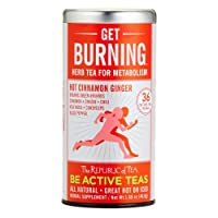 The Republic of Tea Be Active Green Rooibos Tea Get Burning is truly an herbal tea built for your metabolism. Cordyceps are mixed into this fusion, a medicinal herb that Chinese athletes use in order to increase endurance and boost energy. These herb...