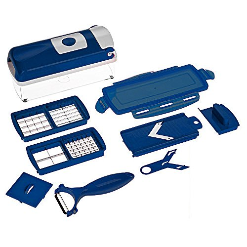 genius-nicer-dicer-smart-set-9-teilig-dunkelblau