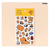 KAKAO FRIENDS Action Sticker Decorative Fun
