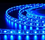 Jaz Deals 20 Meter Waterproof Single Color LED strip 60LED/M IP67 With Driver (Blue)