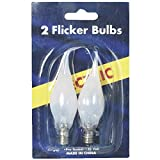 Gerson/Domestic 374950 2 Pack Flicker Silicon Tipped Replacement Bulb