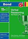 Frances Down Bond 11+ Test Papers Verbal Reasoning Multiple-Choice Pack 2