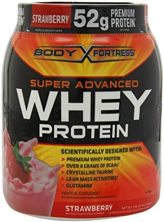 Body Fortess Protein Sale: 2lbs Whey Protein $12
