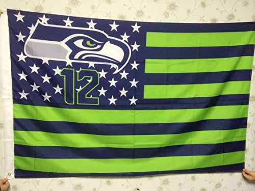 Seattle-Seahawks-12th-Fans-Nation-stars-and-stripes-Fly-banners-flag