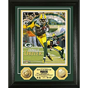 NFL Donald Driver Gold Coin Photo Mint