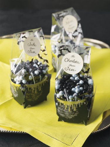 Martha Stewart Crafts Cauldron Cello Treat Bags