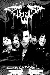 1 X Black Veil Brides - Music Poster (B&W - The Guys - Darkest) (Size: 24\