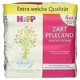 HiPP Babysanft Feuchttücher 4 x 56 Stück, 1er Pack (1 x...