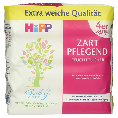 hipp-babysanft-feuchttucher-4-x-56-stuck-1er-pack-1-x-988-g