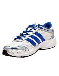 Adidas Men's Eyota White And Blue Running Shoes