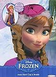 Disney Frozen Anna's Snow Cap and Braids