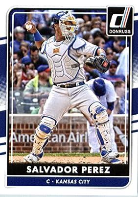 2016 Donruss #172 Salvador Perez Kansas City Royals Baseball Card