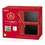 Console Nintendo DSi XL Rouge (inclus New Super Mario Bros) - Edition Limit�e 25�me Anniversaire Mariopar Nintendo