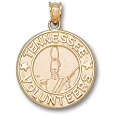 University of Tennessee Volunteer Seal - 14K Gold by Logo Art