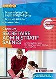 Secrétaire administratif SAENES Catégorie B. Fonction publique d'état Ville de Paris concours 2015...