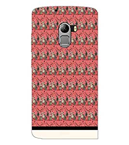 PrintDhaba Pattern D-1553 Back Case Cover for LENOVO K4 NOTE A7010 (Multi-Coloured)
