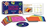 Geometric Origami Kit: The Art of Modular Paper Sculpture [Boxed Kit with 120 Folding Papers, Full-Color Book & DVD]